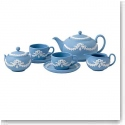 Wedgwood Miniature Tea Set, Blue
