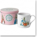 Wedgwood China Peter Rabbit Mug in A Tin, Pink