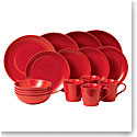 Gordon Ramsay by Royal Doulton Maze Chilli Red 16 Piece Set