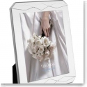 "Vera Wang Wedgwood Peplum Silver Plate 8x10"" Picture Frame"