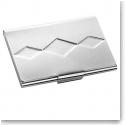 Vera Wang Wedgwood Peplum Silver Plate Business Card Holder