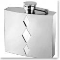 Vera Wang Wedgwood Peplum Silver Plate Flask