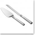 Waterford Lismore Diamond Metal Cake Knife and Server Set