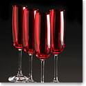 Marquis By Waterford Vintage Red Flute, Set of 4