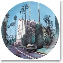 Royal Doulton Street Art Nick Walker Plate, The Morning After Beverly Hills