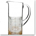 Waterford Mixology Mad Men Circon Pitcher With Gold Band