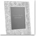 Monique Lhuillier Waterford Sunday Rose 5x7 Picture Frame