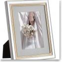 Vera Wang Wedgwood Chime Gold 5x7 Frame
