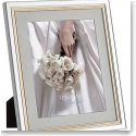 Vera Wang Wedgwood Chime Gold 8x10 Picture Frame