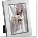 Vera Wang Wedgwood Satin Silver 4x6 Frame