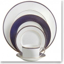 Waterford Lismore Diamond Lapis 5 Piece Place Setting