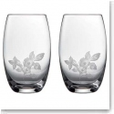 Wedgwood Wild Strawberry Al Fresco Glass Pimms Glass, Pair