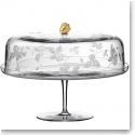 Wedgwood Wild Strawberry Al Fresco Glass Cake Stand