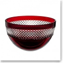 Waterford John Rocha Red Cut Bowl, Small