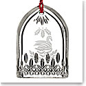 Waterford 2017 12 Days of Christmas Lismore Seven Swans Ornament