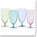 Marquis By Waterford Vintage Ombre Iced Beverage, Set of Four (Bright Green, Aqua, Blue, Purple)