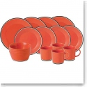 Royal Doulton Colours Red 16 Piece Set