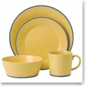 Royal Doulton Colours Yellow 4-Piece Place Setting
