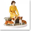 Royal Doulton China Her Majesty At Home, Limited Edition of 2000
