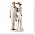 Royal Doulton China Pretty Ladies, Lord and Lady Grantham, Limited Edition 1200