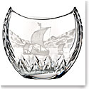 Waterford House of Waterford Viking Long Ship in the Harbor Centerpiece, Limited Edition of 60