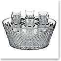 Waterford House of Waterford Alana Vodka Chiller with 6 Shot Glasses, Limited Edition of 260