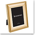 "Waterford Lismore Diamond Gold 8x10"" Metal Frame"