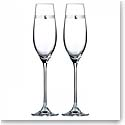 Royal Doulton Promises Love Always Toasting Flutes Pair