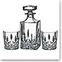 Marquis by Waterford Markham Square Decanter and DOF Pair