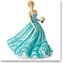 Royal Doulton China Pretty Ladies Happy Birthday, Figure of the Year 2018