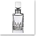 Waterford Lismore Evolution Silver Whiskey Square Decanter