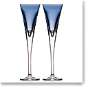 Waterford W Sky Toasting Flutes, Pair
