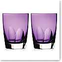 Waterford W Heather DOF Tumbler, Pair