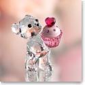 Swarovski Kris Bear Pink Cupcake
