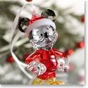 Swarovski Mickey Mouse Christmas Ornament