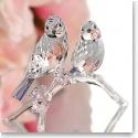 Swarovski Blue Chickadees