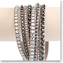 Swarovski Slake Wrap Bracelet, Mixed Size Light
