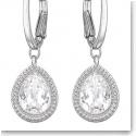 Swarovski Aneesa Pierced Earrings Crystal and Rhodium