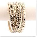 Swarovski Slake Wrap Bracelet, Gold