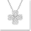 Swarovski Clover Shamrock Pendant Necklace