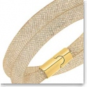 Swarovski Stardust Double Crystal and Gold Bracelet