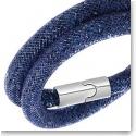 Swarovski Stardust Double Montana Blue Bracelet