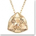 Swarovski Brief Golden Shadow and Gold Pendant Necklace