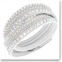 Swarovski Slake Wrap Bracelet, Deluxe White