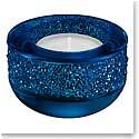 Swarovski Shimmer Tealight, Dark Blue