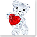 Swarovski Kris Bear A Heart For You, Light Siam