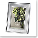 "Vera Wang Wedgwood Grosgrain 4x6"" Picture Frame"