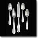Vera Wang Wedgwood Vera Lace Stainless Flatware, 5 Piece Place Setting
