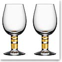 Orrefors Morberg Exclusive White Wine, Pair