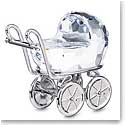 Swarovski Moments Baby Carriage - Rhodium